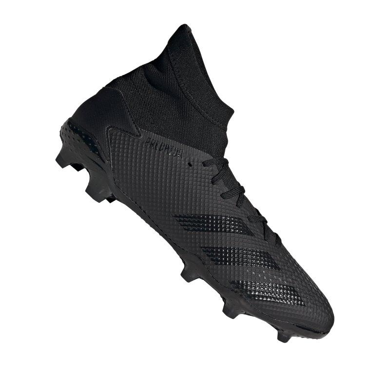 adidas Predator 20.3 FG Schwarz Grau - schwarz