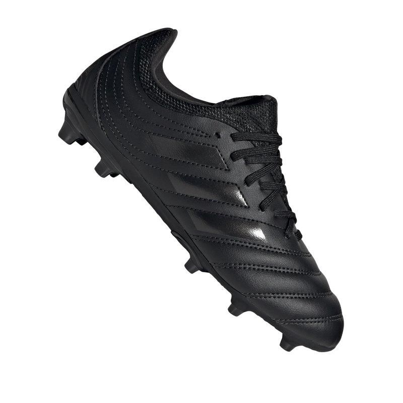 adidas COPA 20.3 FG J Kids Schwarz Grau - schwarz