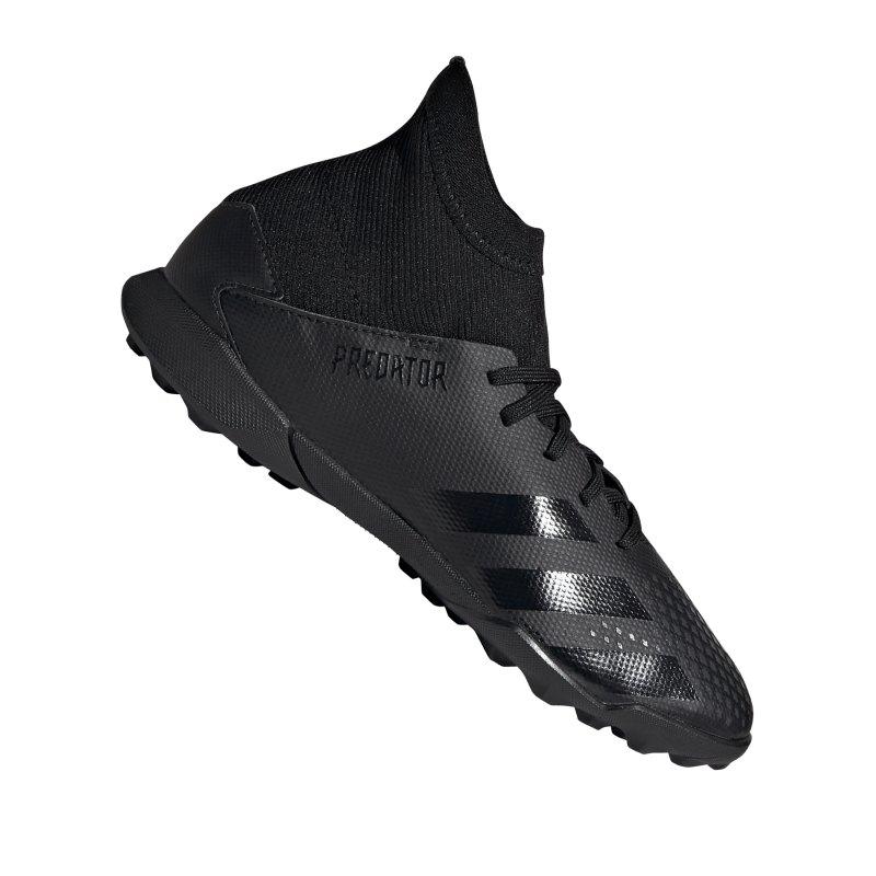 adidas Predator 20.3 TF J Kids Schwarz Grau - schwarz