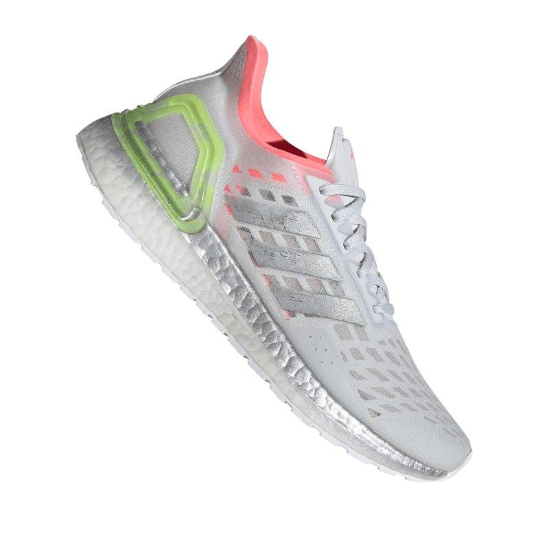adidas Ultra Boost PB Running Damen Grau Silber - grau