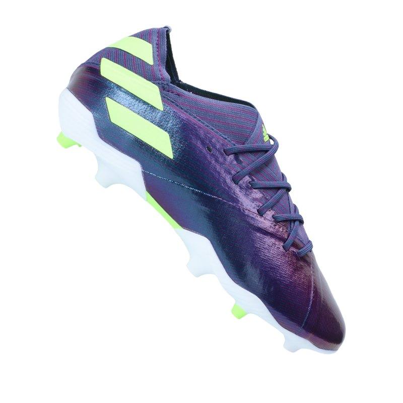 adidas NEMEZIZ Messi 19.1 FG J Kids Lila - lila