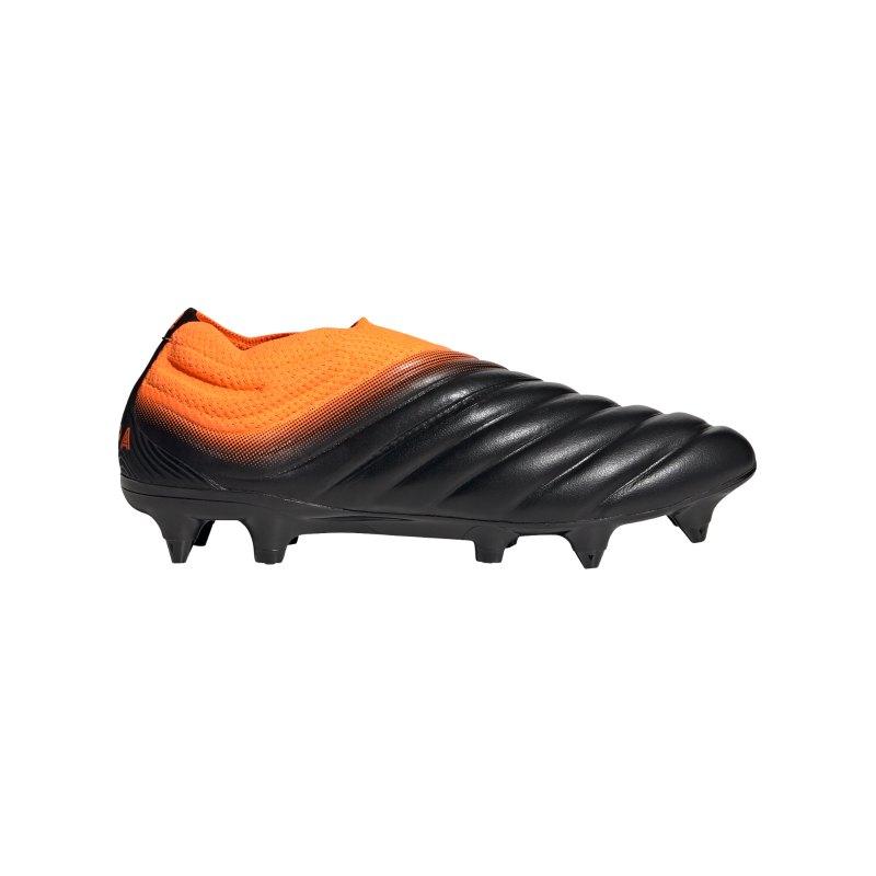 adidas COPA Precision to Blur 20+ SG Schwarz Orange - schwarz