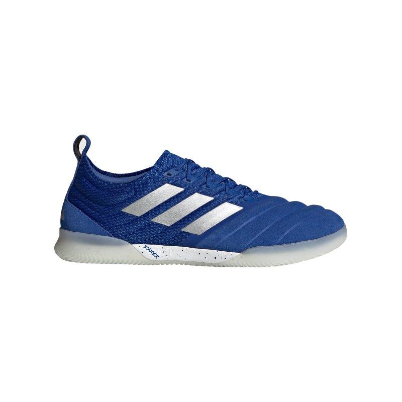 adidas COPA Inflight 20.1 IN Halle Blau Silber - blau