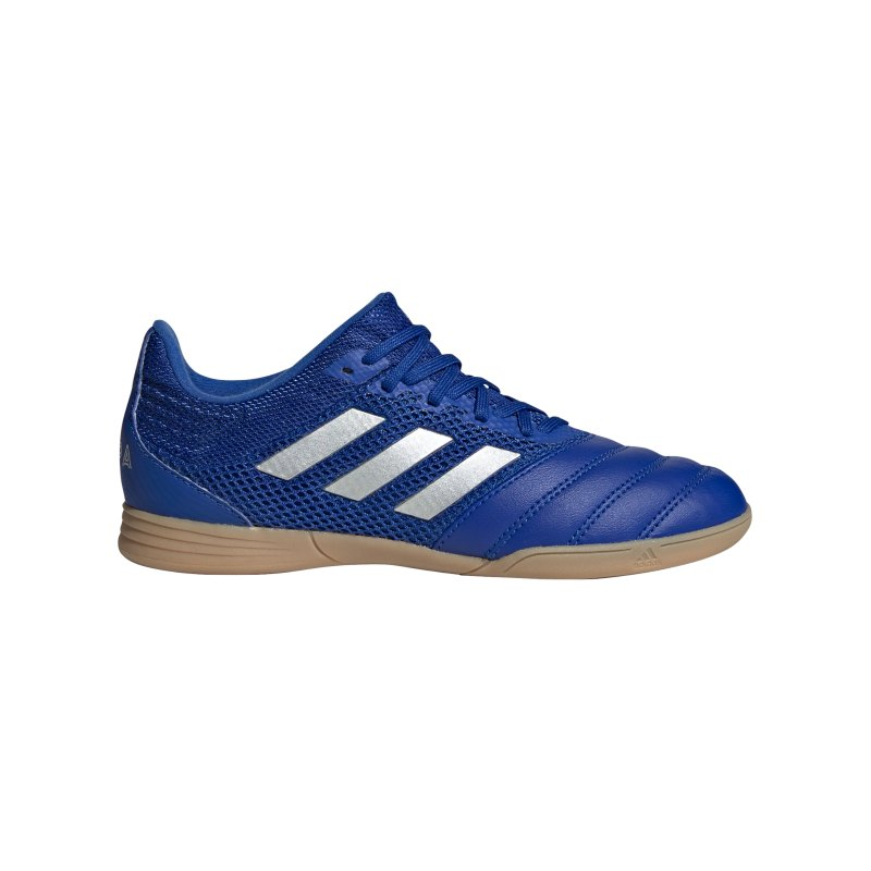 adidas COPA Inflight 20.3 IN Sala Halle J Kids Blau Silber - blau