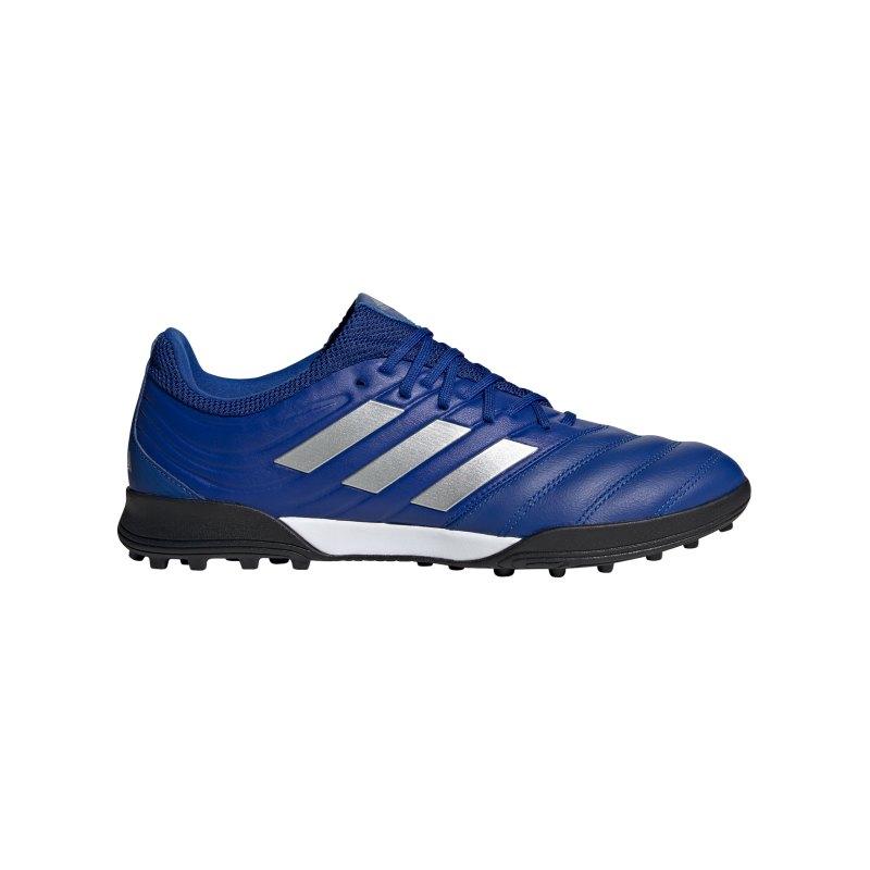 adidas COPA Inflight 20.3 TF Blau Silber - blau