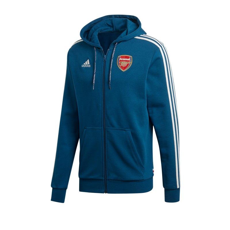 adidas FC Arsenal London Kapuzenjacke Blau - blau