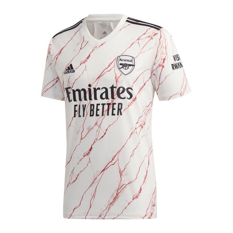 adidas FC Arsenal London Trikot Away 2020/2021 - weiss
