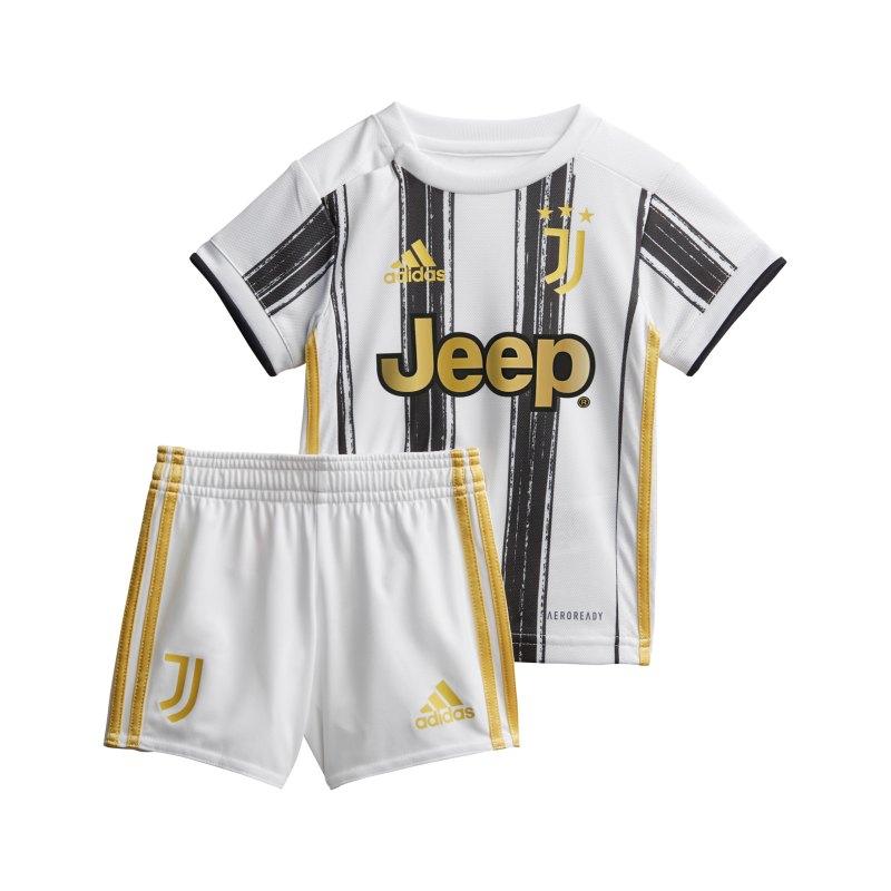 adidas Juventus Turin Babykit Home 20/21 Weiss - weiss