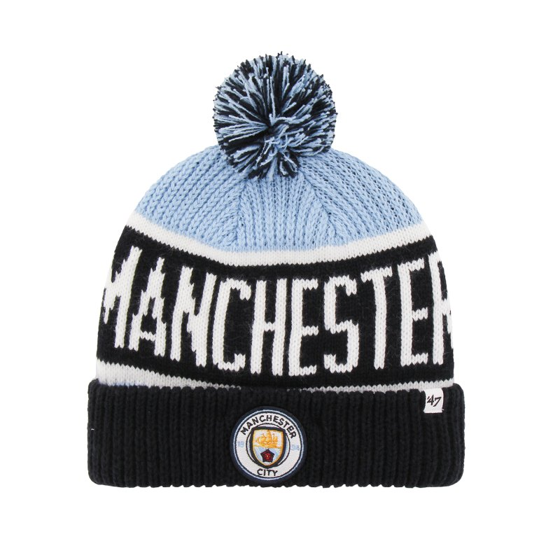 47 Brand Manchester City Clagary Mütze Blau - blau