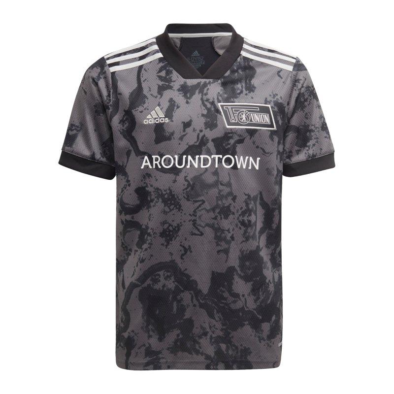 adidas 1. FC Union Berlin Trikot Away 2021/2022 Kids Grau - grau
