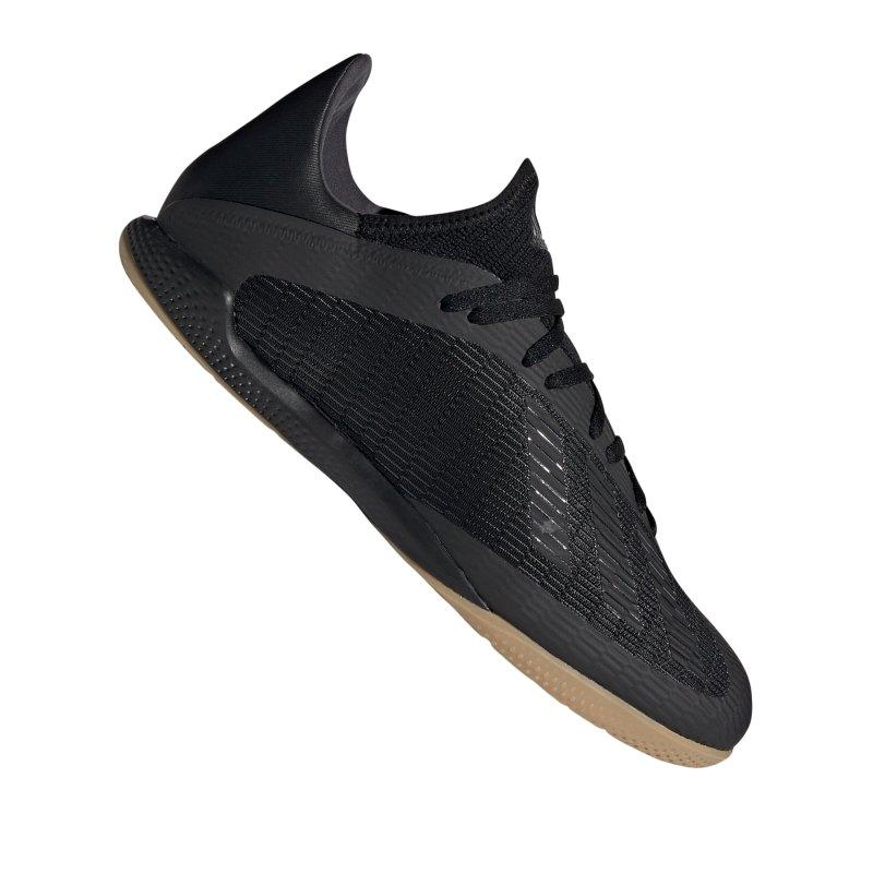 adidas X 19.3 IN Halle Schwarz - schwarz