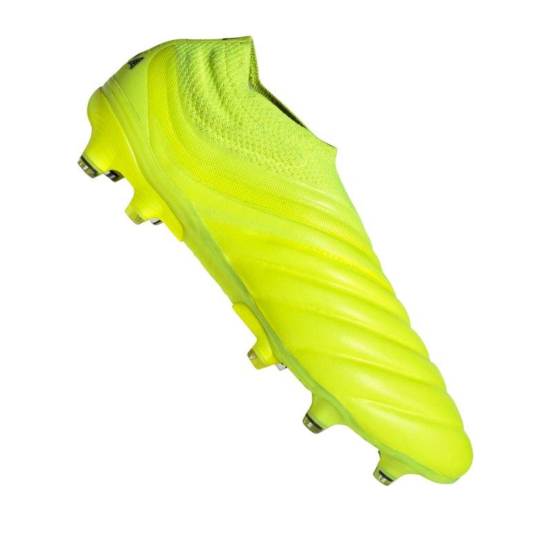 adidas COPA 19+ FG Gelb - gelb