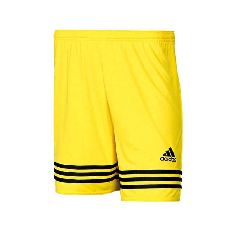 adidas Short Entrada 14 Kinder Gelb Schwarz - gelb