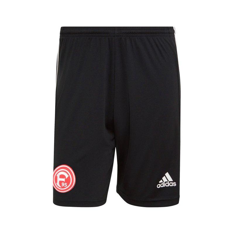 adidas Fortuna Düsseldorf Trainingsshort Schwarz - schwarz
