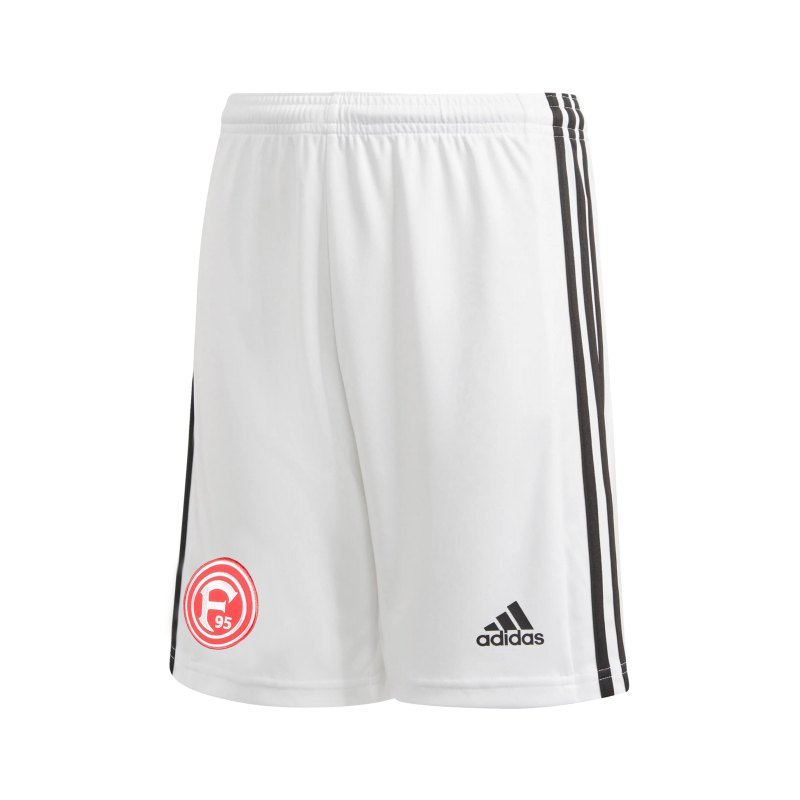adidas Fortuna Düsseldorf Short Away 2021/2022 Weiss - weiss
