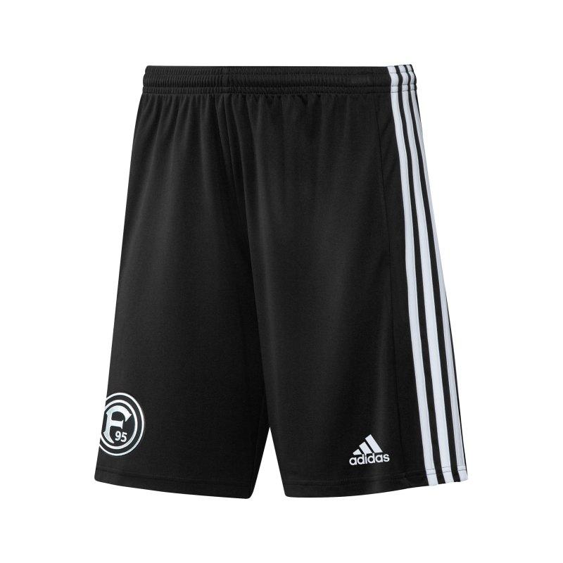 adidas Fortuna Düsseldorf Short 3rd 2021/2022 Schwarz - schwarz
