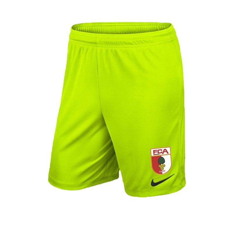 Nike FC Augsburg Torwartshort 2019/2020 Gelb F702 - gelb
