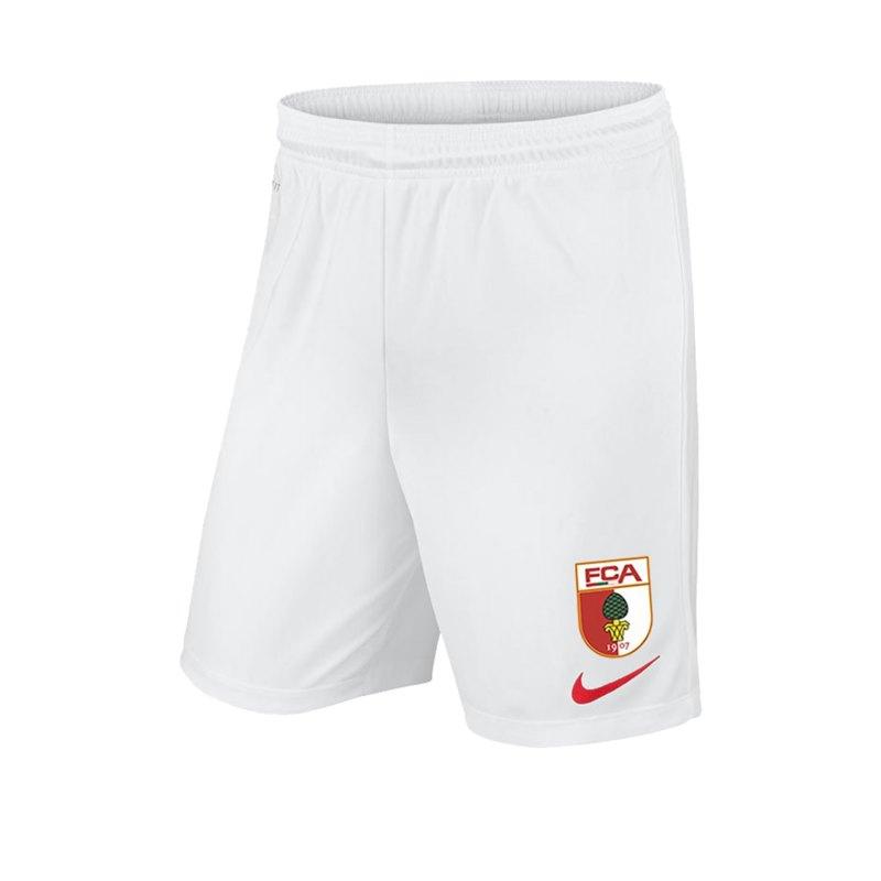 Nike FC Augsburg Short Home 2019/2020 Kids Weiss F102 - weiss