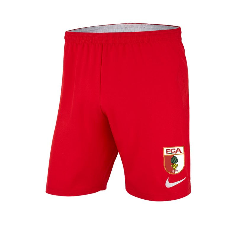 Nike FC Augsburg Short 3rd 2019/2020 Rot F657 - rot