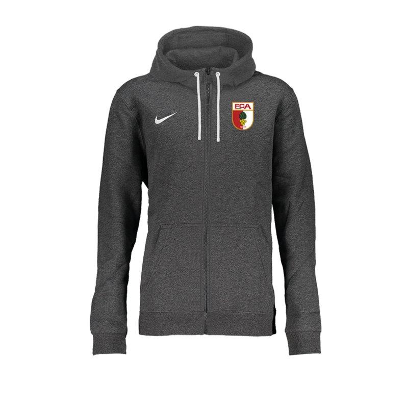 Nike FC Augsburg Kapuzenjacke Grau F071 - grau