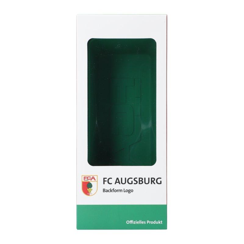 FC Augsburg Backform Logo - schwarz