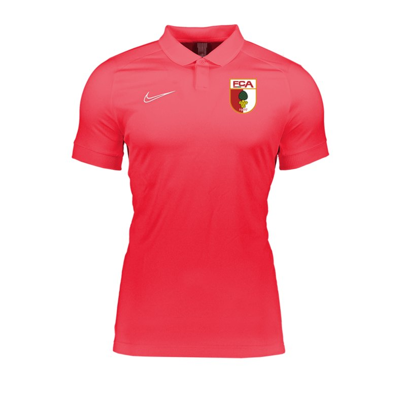 Nike FC Augsburg Poloshirt kurzarm Rot F671 - rot