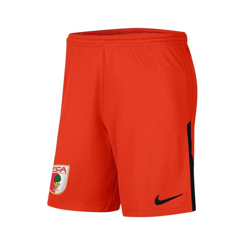 Nike FC Augsburg Torwartshort 2021/2022 F891 - orange