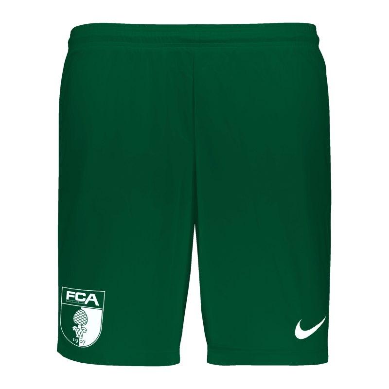Nike FC Augsburg Short Away 20/21 F302 - gruen