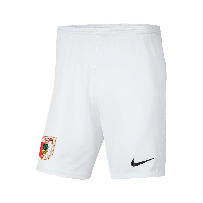 Nike FC Augsburg Short Away 2021/2022 Weiss F100 - weiss