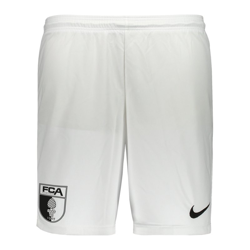 Nike FC Augsburg Short Home 20/21 F100 - weiss