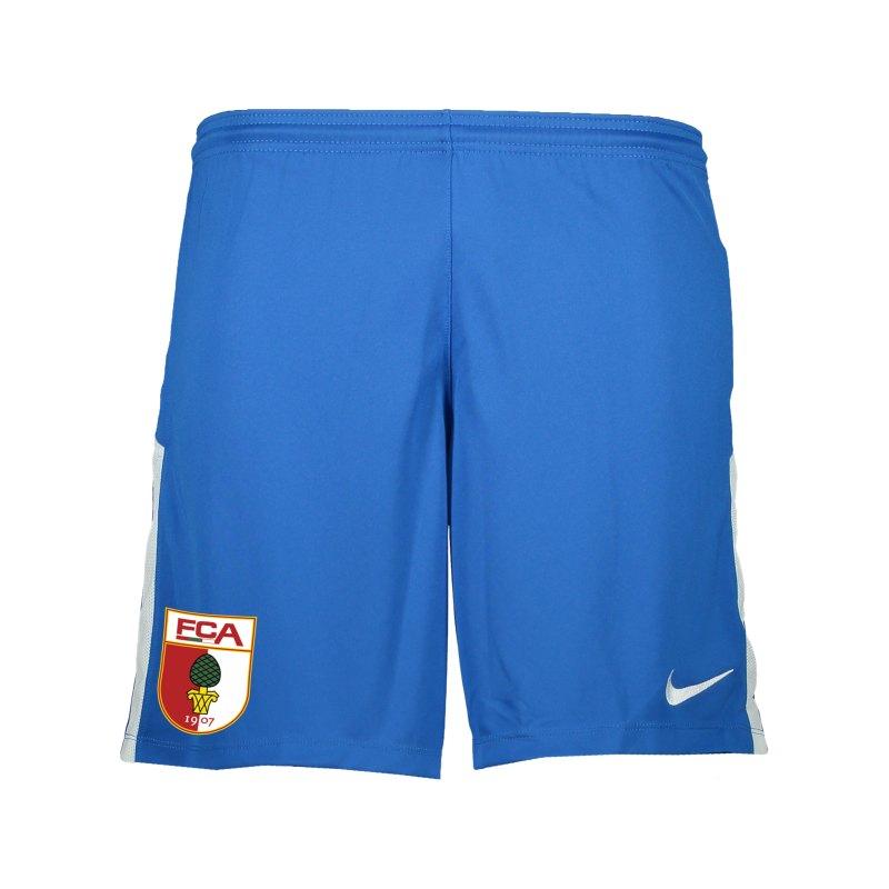 Nike FC Augsburg Torwartshort 2021/2022 Kids F477 - blau