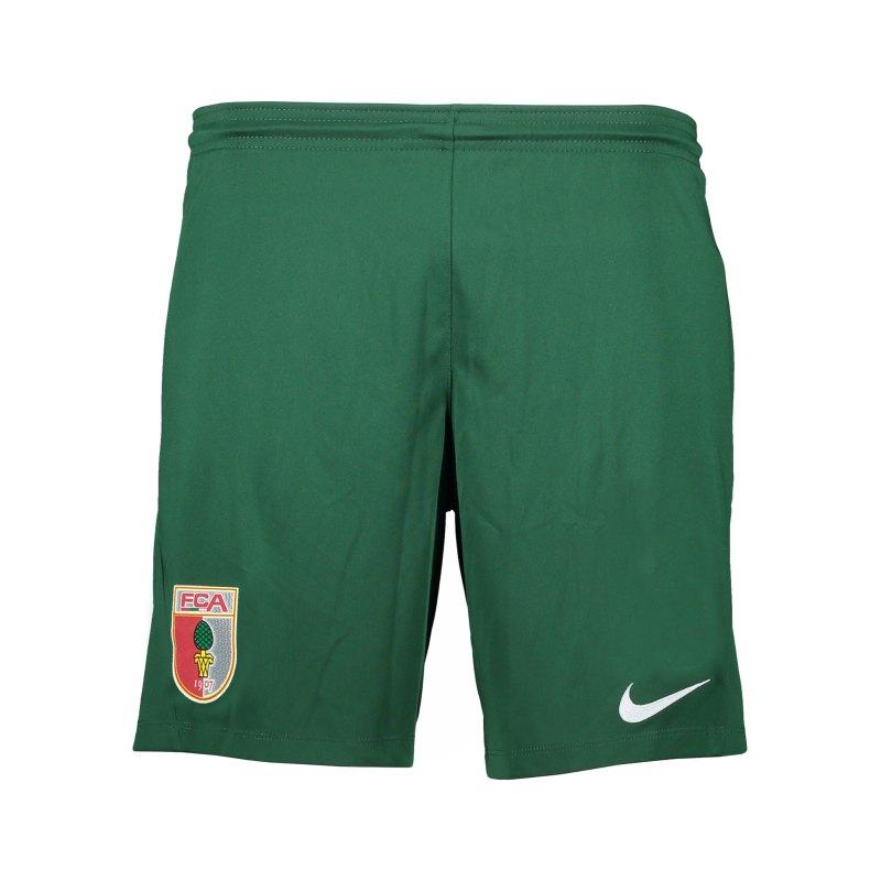 Nike FC Augsburg Short Home 2021/2022 Kids Grün F341 - gruen