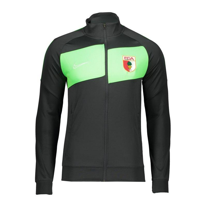 Nike FC Augsburg Trainingsjacke Grau F060 - grau
