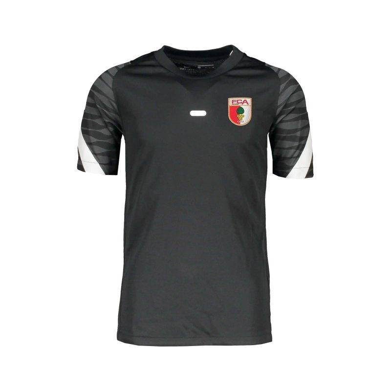 Nike FC Augsburg Trainingsshirt Kids Schwarz F010 - schwarz