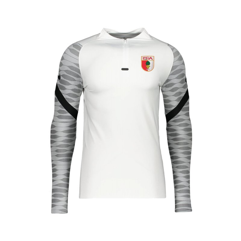 Nike FC Augsburg Drill Top Sweatshirt Weiss F100 - weiss