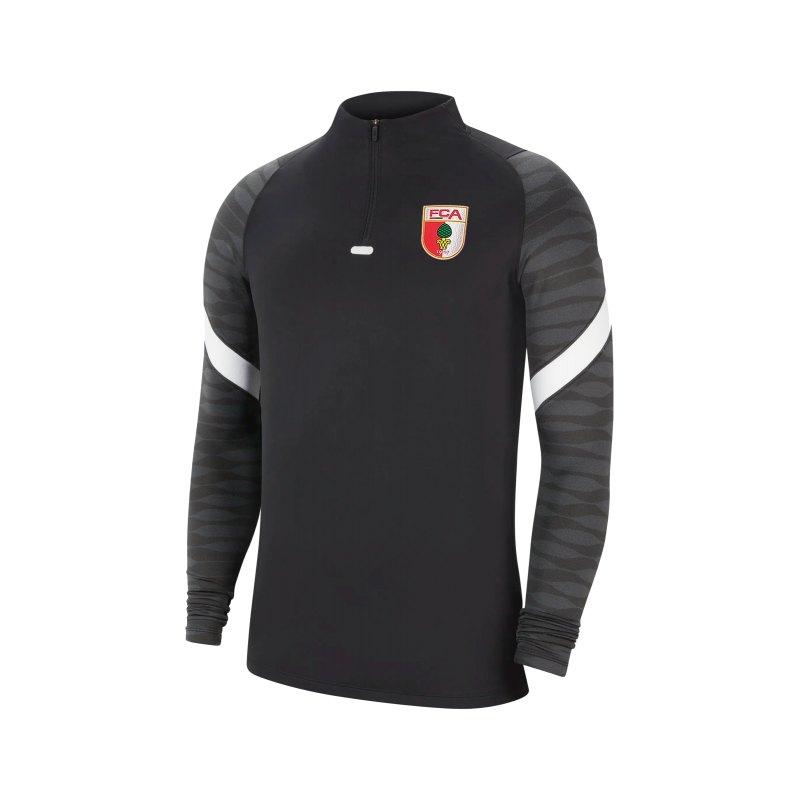 Nike FC Augsburg Drill Top Sweatshirt Kids F010 - schwarz