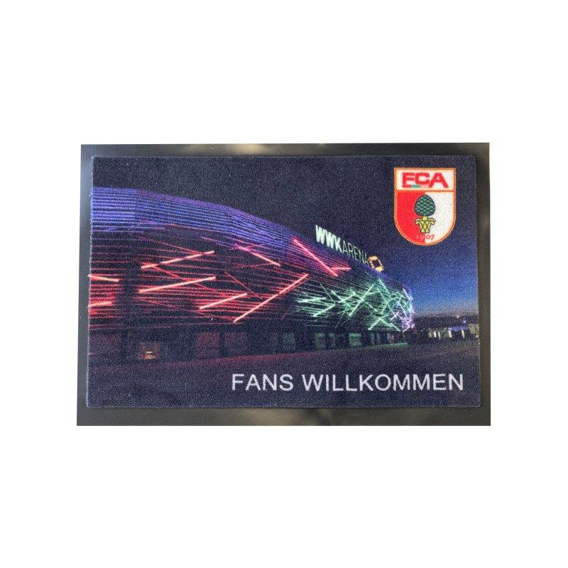 FC Augsburg Fußmatte Stadion 40x60cm - gruen