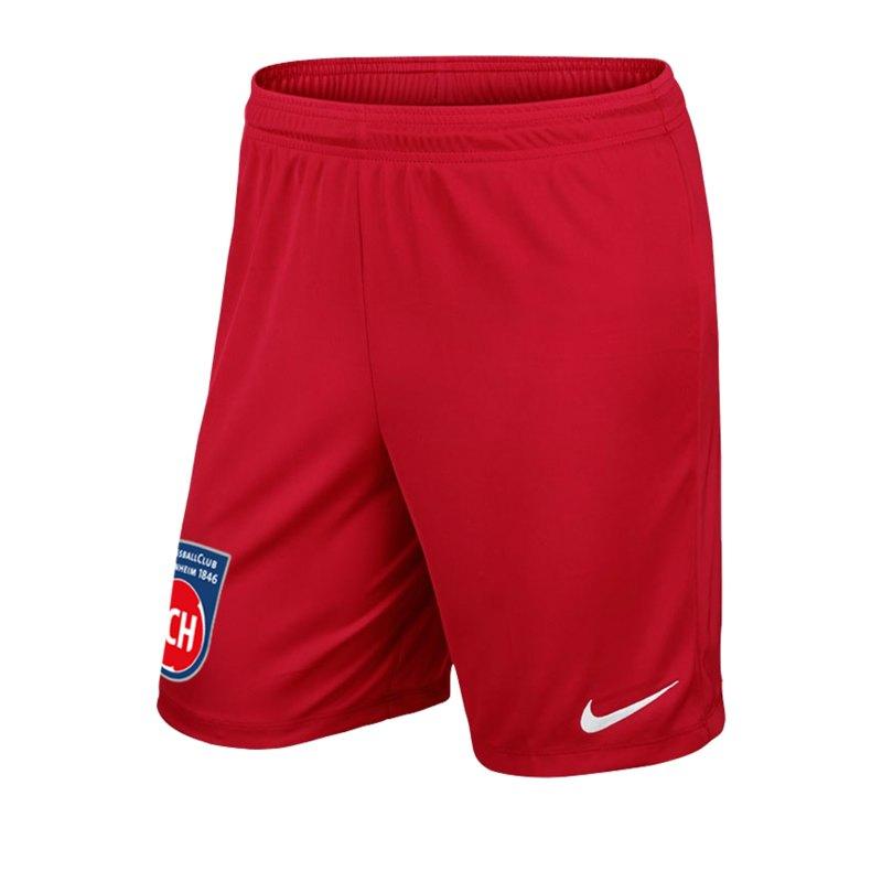 Nike 1. FC Heidenheim Short Home 2019/2020 F657 - rot