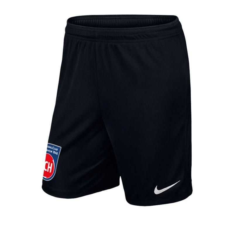 Nike 1. FC Heidenheim TW-Short Kids 2019/2020 F010 - schwarz