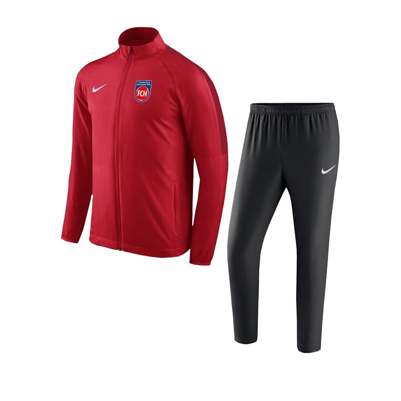 Nike 1. FC Heidenheim Trainingsanzug Kids Rot F657 - rot