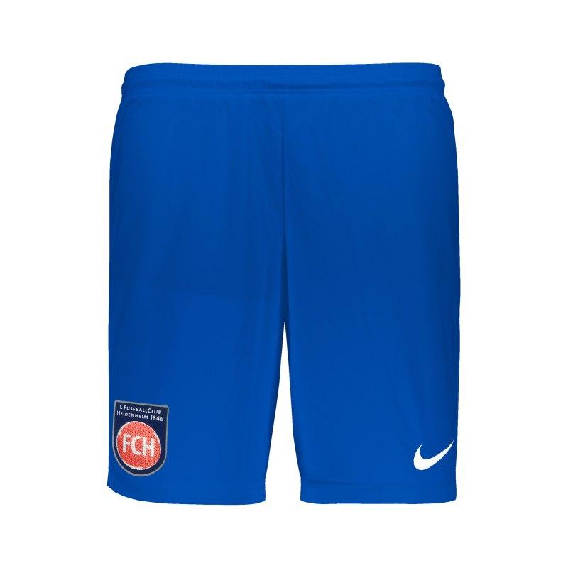 Nike 1. FC Heidenheim Short Away 21/22 Blau F463 - blau