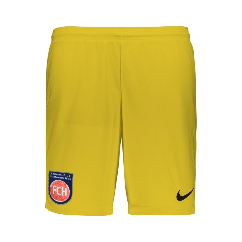Nike 1. FC Heidenheim TW-Short Kids Gelb F719 - gelb