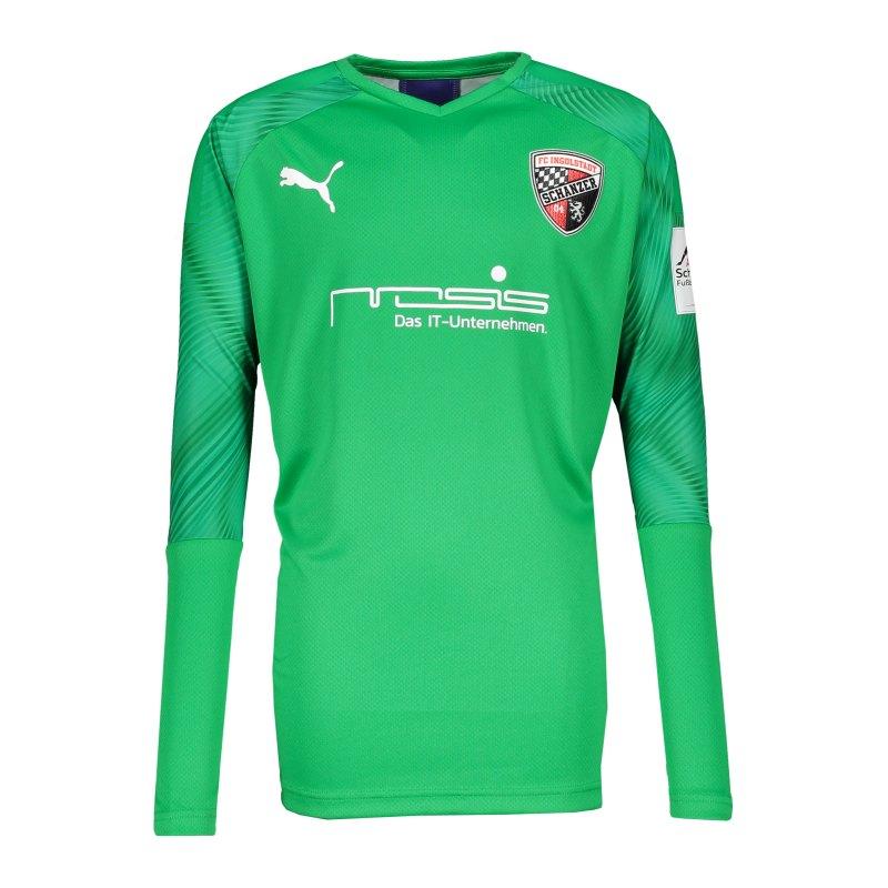 PUMA FC Ingolstadt 04 Torwarttrikot 2020/2021 Kids Grün F43 - gruen