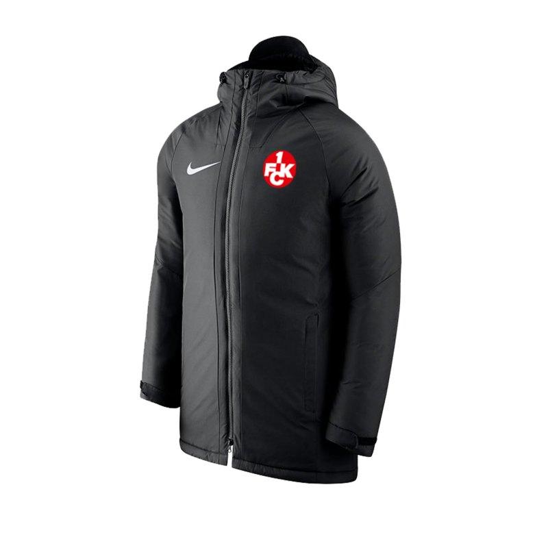 Nike 1. FC Kaiserslautern Coachjacke Kids F010 - schwarz