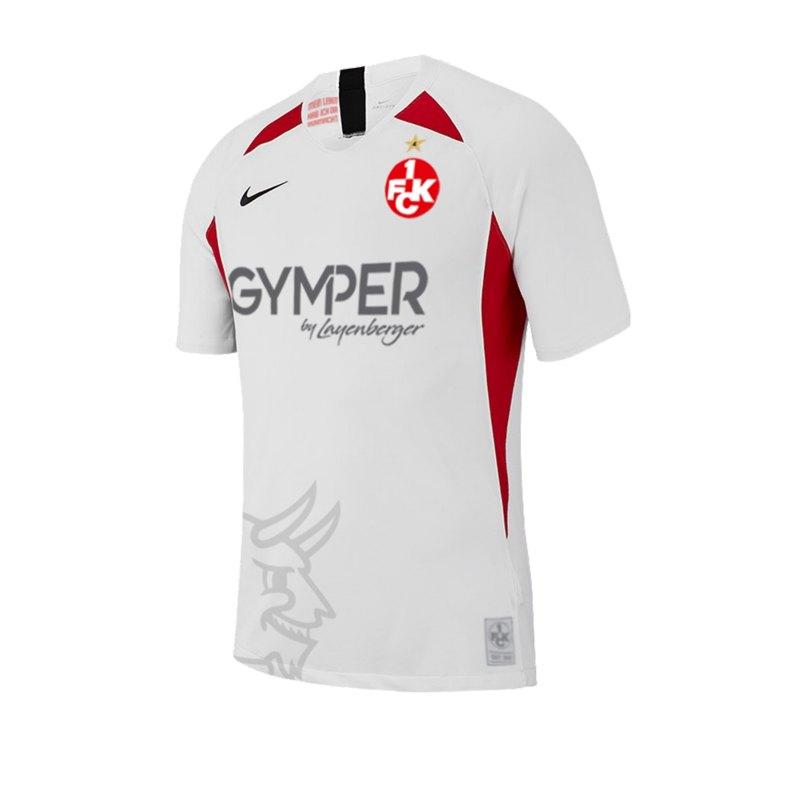 Nike 1. FC Kaiserslautern Trikot 3rd 19/20 F101 - weiss