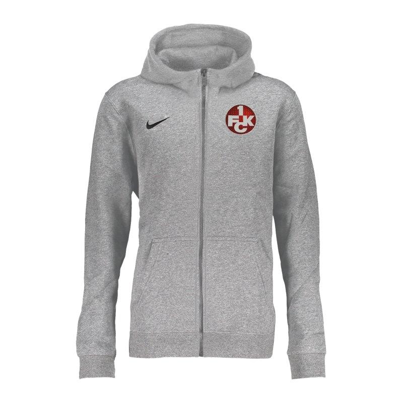 Nike 1. FC Kaiserslautern Kapuzenjacke Kids F063 - grau