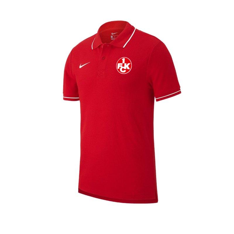 Nike 1. FC Kaiserslautern Poloshirt Rot F657 - rot