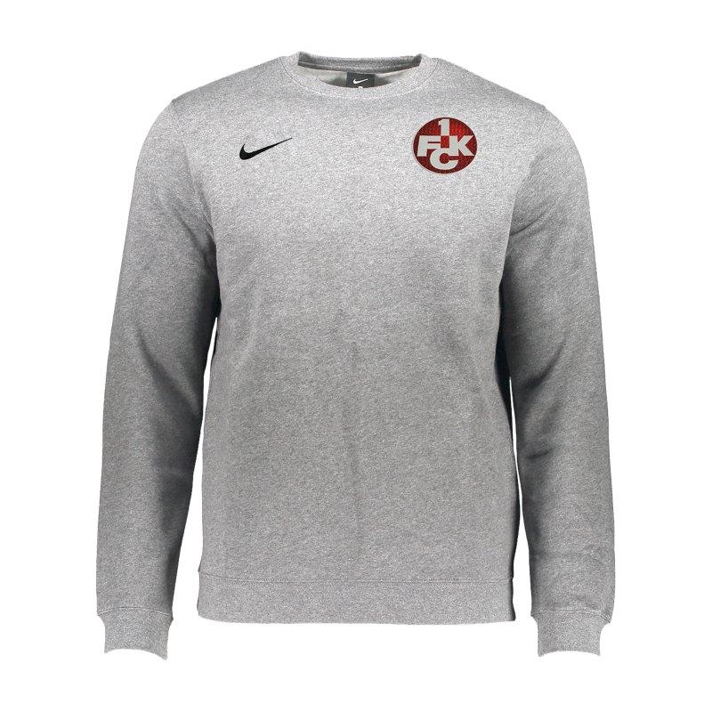 Nike 1. FC Kaiserslautern Sweater Kids Grau F63 - rot
