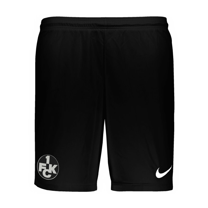 Nike 1. FC Kaiserslautern Short Away 2020/2021 Schwarz F010 - schwarz