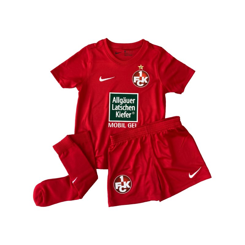 Nike 1. FC Kaiserslautern Minikit Home 2020/2021 F657 - rot